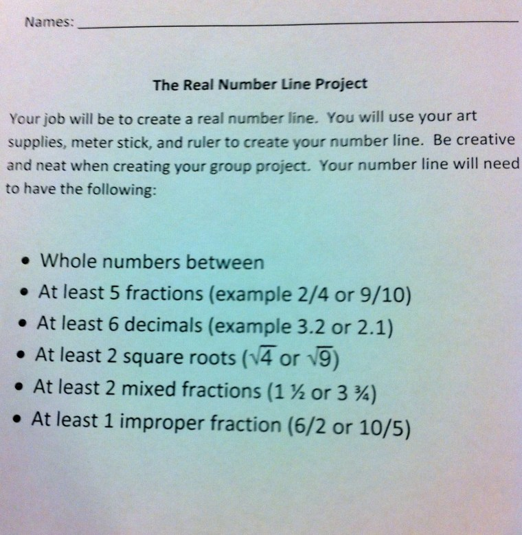 The Real Number Line Educational Aspirations – Fractions and Mixed Numbers on a Number Line Worksheets