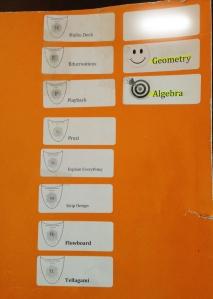 Student folder w/badges