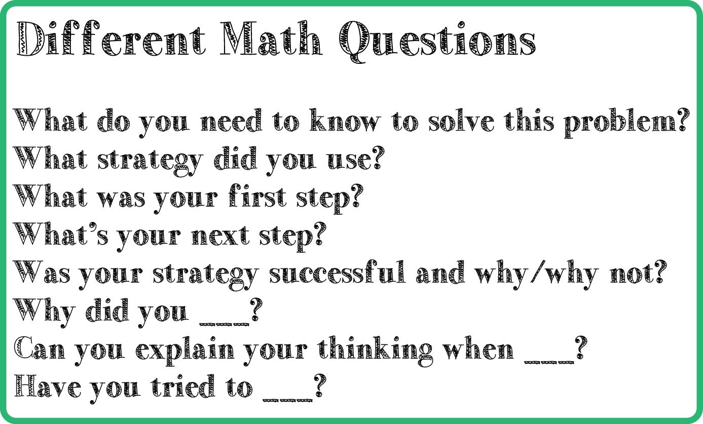 Effective Questioning Techniques – Educational Aspirations