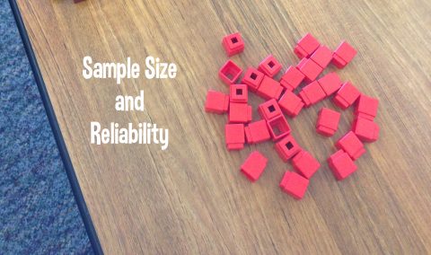Sample Size and Reliability